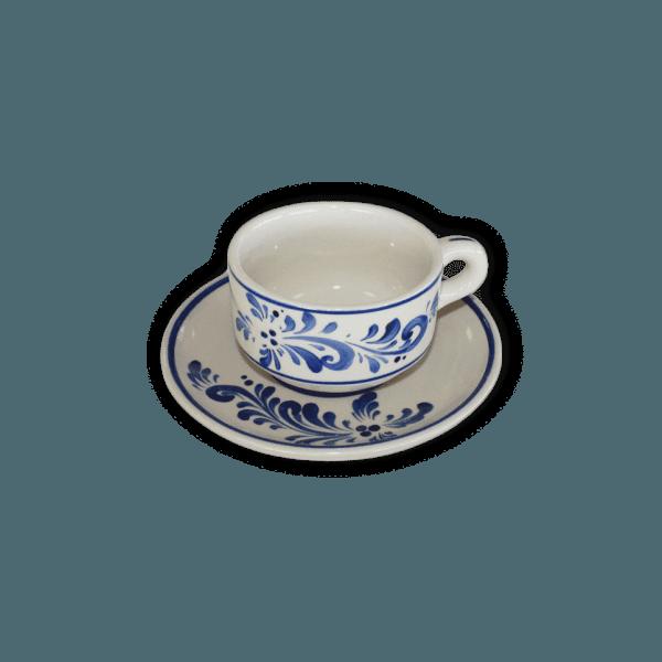 Chávena almoçadeira de encaixe para chá e café Vianagrés